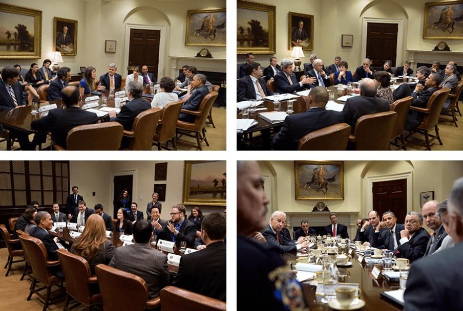 @Pete Souza/ The White House