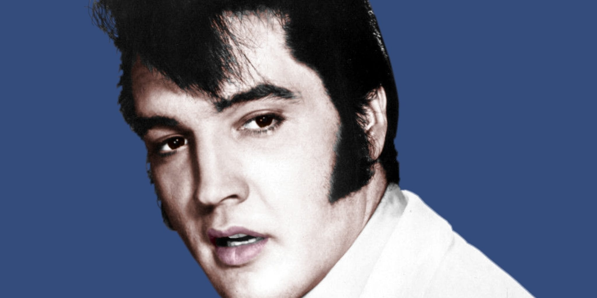 An Elvis Presley on the Extreme Right